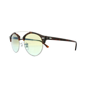 8f35f8ea9c Image is loading Ray-Ban-Sunglasses-Clubround-Double-Bridge-4346-62519J-