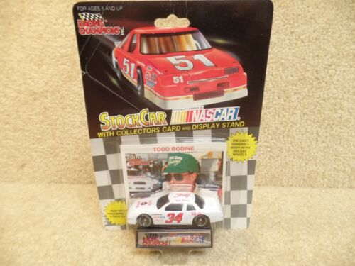 1991 Racing Champions 1:64 NASCAR Todd Bodine Quick Beverage Buick Regal #34 a