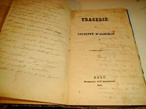 TRAGEDIE-di-G-D-039-ALBERGO-STAMPERIA-DELL-039-INTENDENZA-NOTO-1842