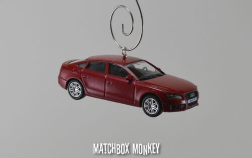 Audi A5 Sportback 8TA Executive Car Custom Christmas Ornament 1//64 Scale NEW