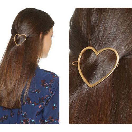 1 Stück Hohle Herzförmige Mädchen Haarschmuck Haarnadeln Haarspange sp
