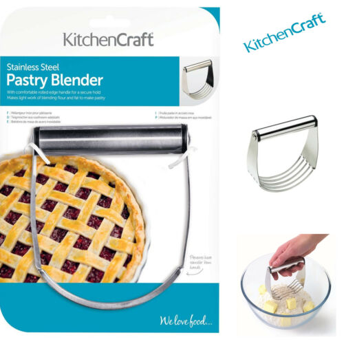 Kitchen Craft Stainless Steel Pastry Blender Baking Quality Mixer Cutters
