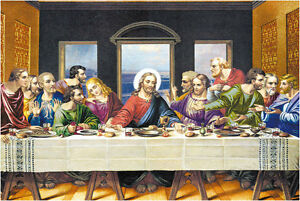 deluxe jigsaw puzzle 1000 piece jesus the last supper famous art