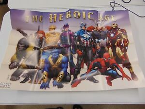 THE-HEROIC-AGE-MARVEL-COVER-POSTER-PROMOTIONAL-IRON-MAN-SPIDER-MAN-THOR-GM1159