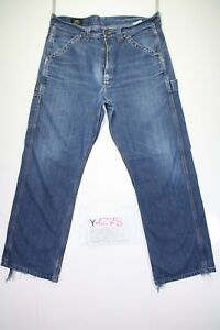 Lee-Trabajo-Jadear-Cod-Y1278-tg47-W33-L30-vaqueros-talle-alto-usado-vintage