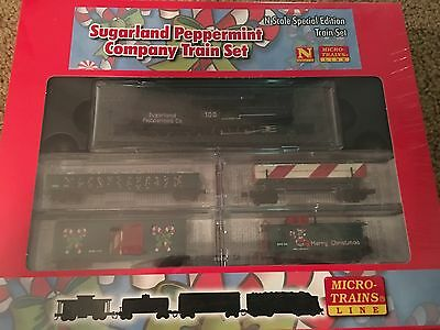 Micro Train N-Scale MTL 99321130 Sugarland Peppermint Christmas Set Special Edtn