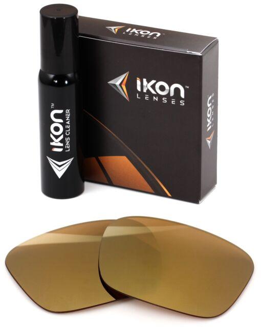 fabfe378bf6 Polarized IKON Replacement Lenses For Von Zipper Fulton Sunglasses Gold  Mirror
