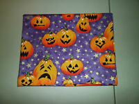 1-carved Pumpkins/halloween Travel Size Pillow Pillowcase 14 X 18 Handmade