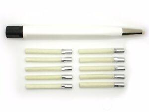 1x-GLASFASERSTIFT-PROFI-NACHFULLBAR-10x-Ersatz-Glaspinsel-4mm-Rost-Oxid-KFZ