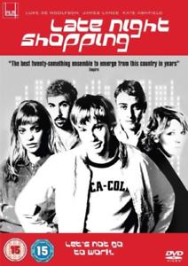 Luke-de-Woolfson-James-Lance-Late-Night-Shopping-DVD-NUOVO