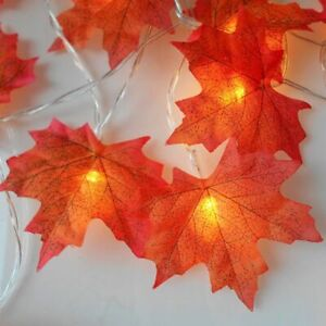 LED-String-Maple-Leaves-Battery-Operated-Halloween-Christmas-Tree-Decoration