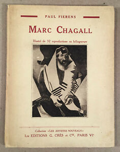 MARC CHAGALL: Illustré de 32 reproductions en héliogravure, by Paul Fierens 1929