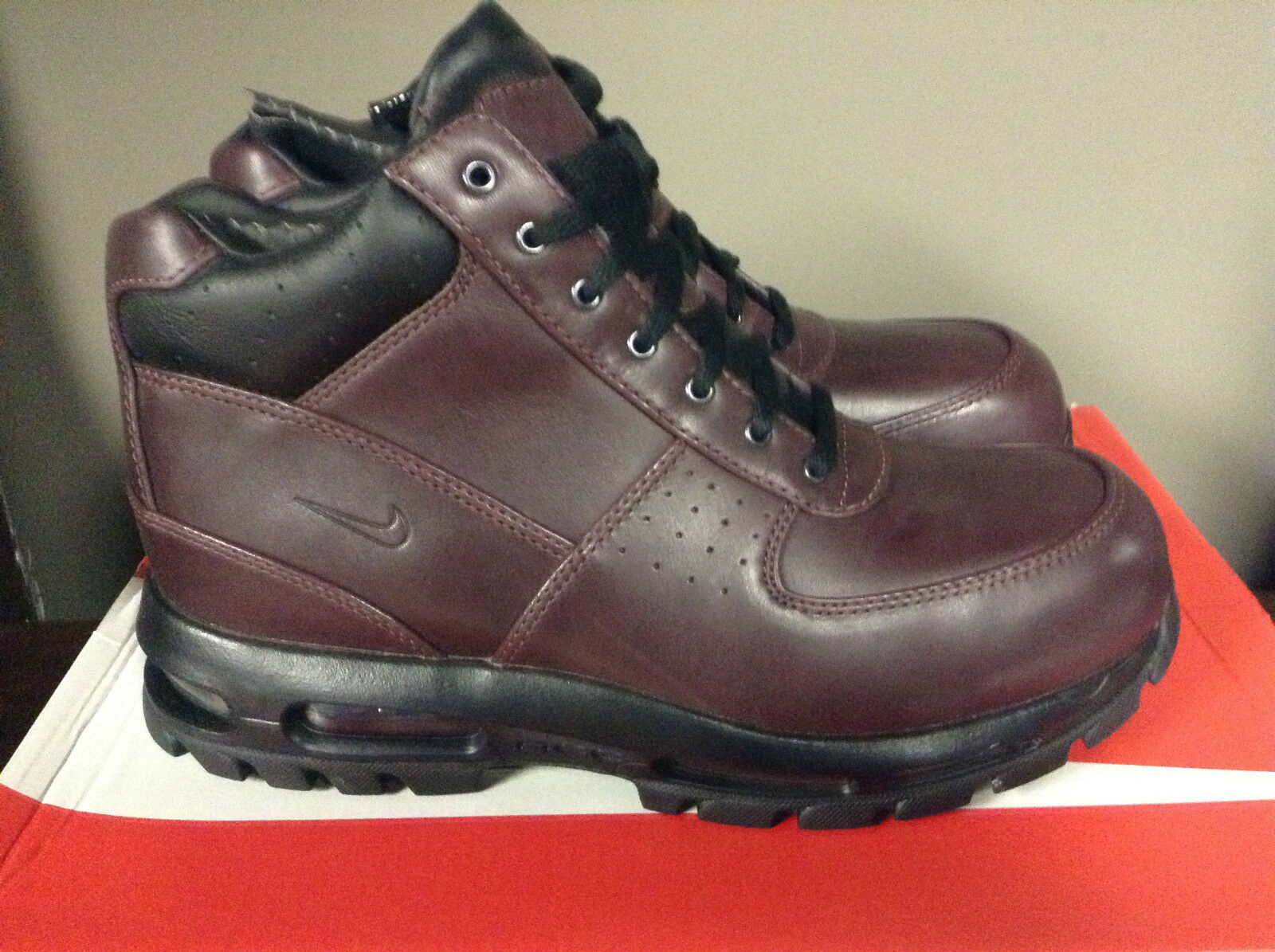 Nike 2016 Air Max Goadome ACG New Mens BootsDeep Burgundy 865031-601 NEW