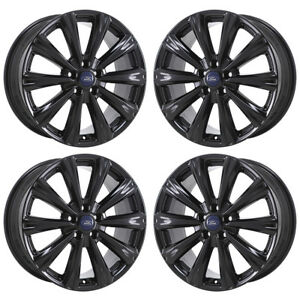 Image Is Loading 18 034 Ford Escape Anium Gloss Black Wheels