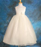 FREEPOS Jane Flower Girl 1st Holy Communion Bridesmaid Wedding Dress  Age 3-10Yr
