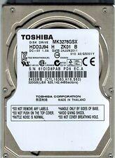 """TOSHIBA MK3276GSX 320GB 2.5"""" Disco Duro Interno Para Laptop - 1 Año De Garantía"""