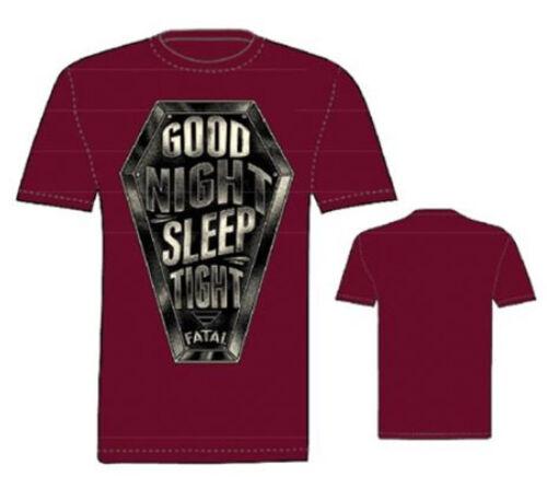 FATAL CLOTHING CALI  SLEEP TIGHT  T SHIRT GOTH TATTOO PUNK