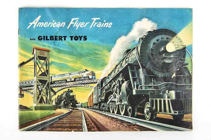 Lot 180819 American Flyer Trains Catalog 1952, Railways, Kits, railway buildings