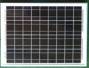 20W-PV-SOLAR-PANEL-BATTERY-CHARGER-CARAVAN-MOTORHOME-CAMPER-12v-cable-croc-clips