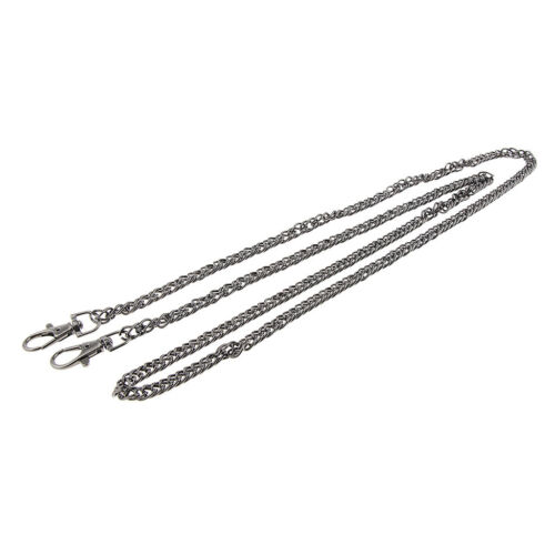Crossbody Replacement Mental Chain Strap Shoulder Handbag Purse Handle 120cm