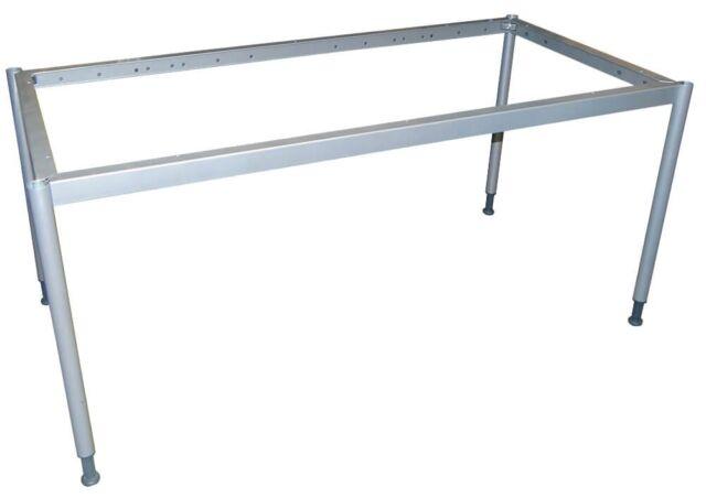 Ikea Effektiv Tischgestell 120x80cm Grau Ebay