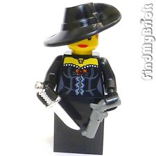 M354 Lego Creed Hunter Robin Hood Black Widow Assassin Custom Minifigure NEW