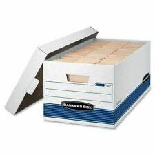 White for sale online Bankers Box FEL5703604 6 Pocket Plastic Storage Box