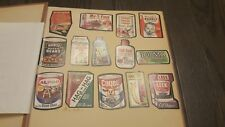 LOT Vintage Topps WACKY PACKAGES in Scrapbook Set Bundle Collection