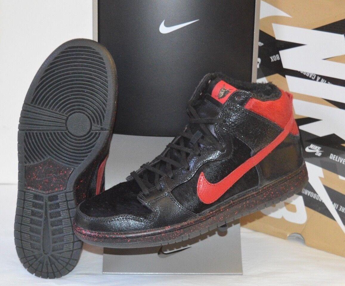 Vnds Krampus Nike Dunk High / Pro Premium SB negro / High gimnasio Rojo reducción de precios baratos y de moda hermosa 9ca88a