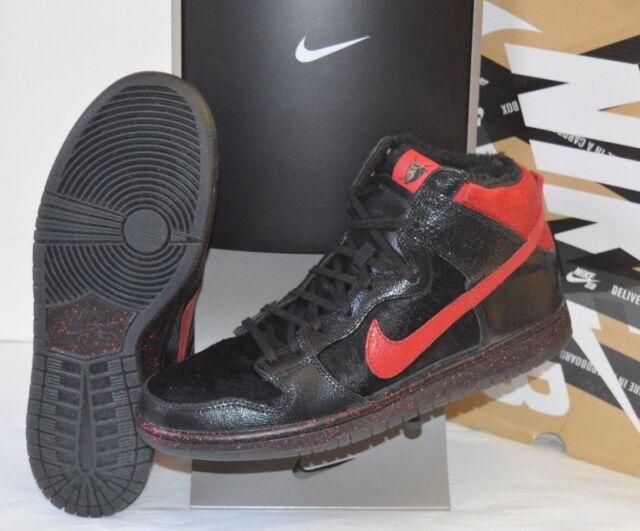 online retailer 037c4 88821 VNDS Krampus Nike Dunk High Pro Premium SB Black/gym Red Sz 11.5 RARE W/box  for sale online | eBay