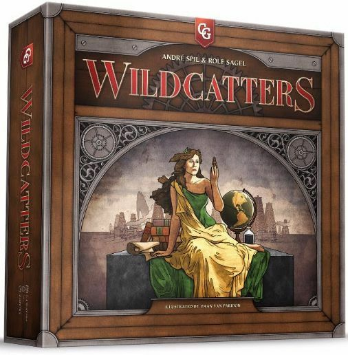 Wildcatters - Capstone Games - Board Game - Factory Sealed - Free Shipping