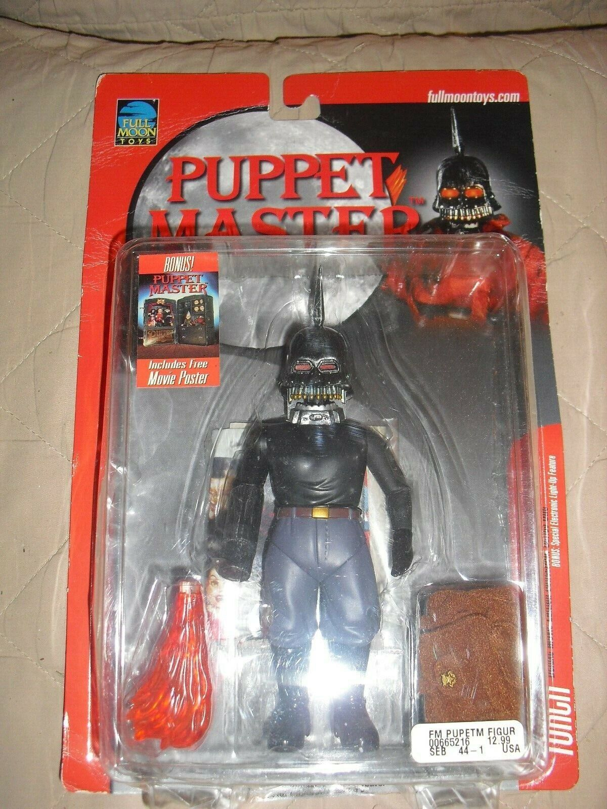 Torch puppet master full moon toys nib figure