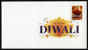 #5142 Diwali, Digital Color FDC Cualquier 5=