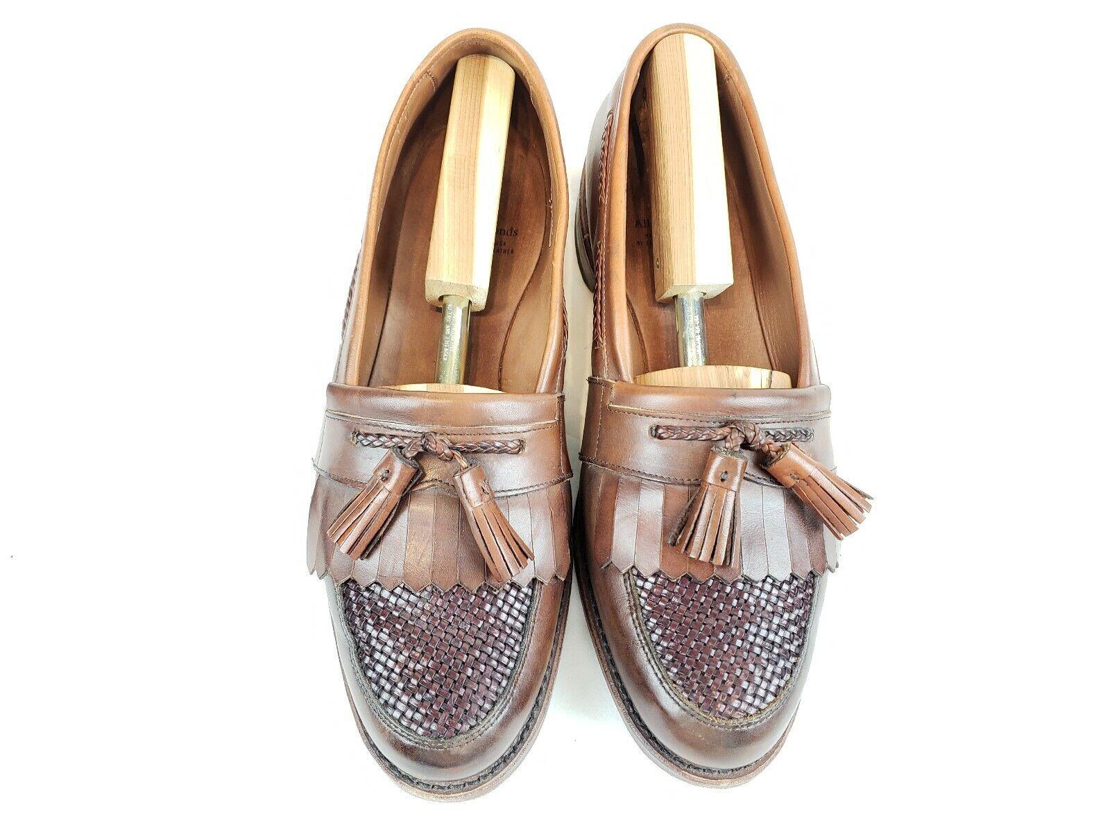 62ce1b0a38c 11D Mens ALLEN Tassel Loafers Brown Kilt Moc EDMONDS Cody nxvckh1379-Men s  Dress Shoes
