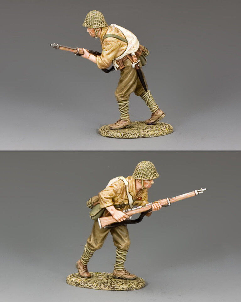 KING & COUNTRY WW2 JAPANESE NAVY JN028 ADVANCING JAPANESE SOLDIER MIB