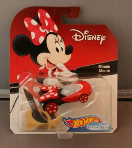 Hot Wheels Character Cars Disney Minnie Mouse
