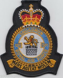 RAF-no-101-Squadron-Royal-Air-Force-Embroidered-Crest-Badge-Patch-MOD-Approved