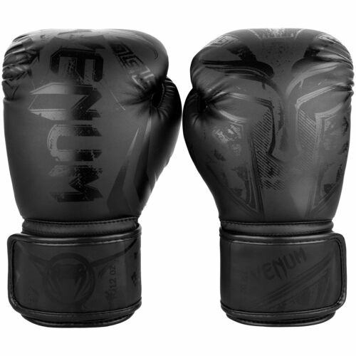 Venum Gladiator 3.0 Boxing Gloves Matte Black Thai Boxing Kickboxing Training