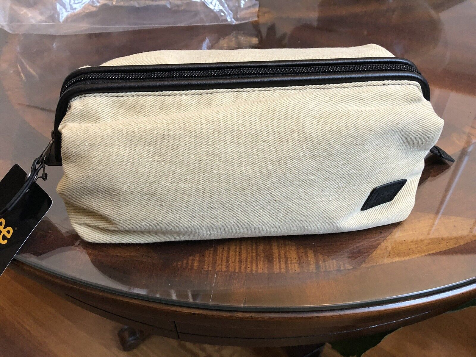 Lee Mens Dopp Bag, Travel Toiletry Bag *new* - s l1600