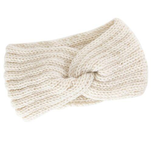 Damen Strick Haarband Knoten Kopfband Wärmer Mädchen Stirnband Schleife .vzYL