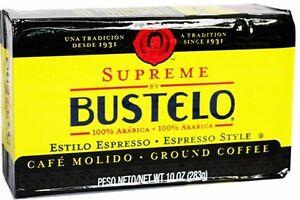 Bustelo-Supreme-Cuban-Coffee-Ground-vacuum-pack-10-Oz-Free-Shipping