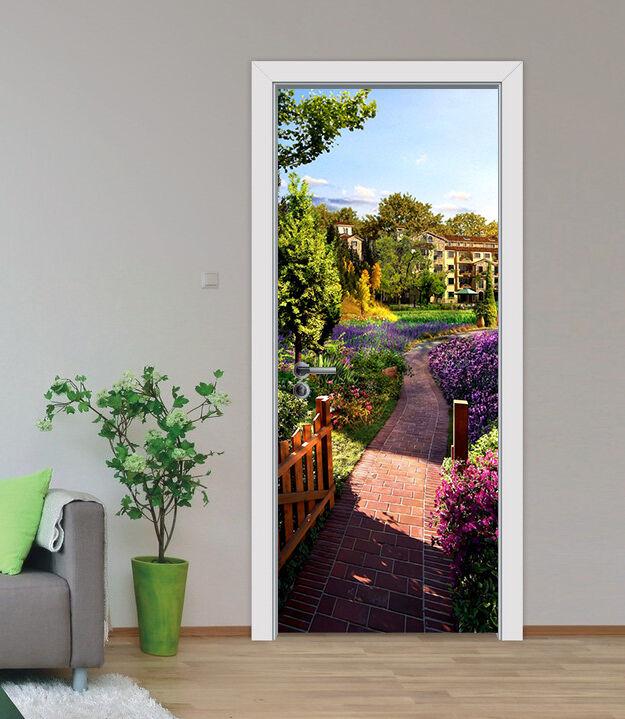 3D Garten, Sonne 4 Door Wall Mural Photo Wall Sticker Decal Wall AJ WALLPAPER DE