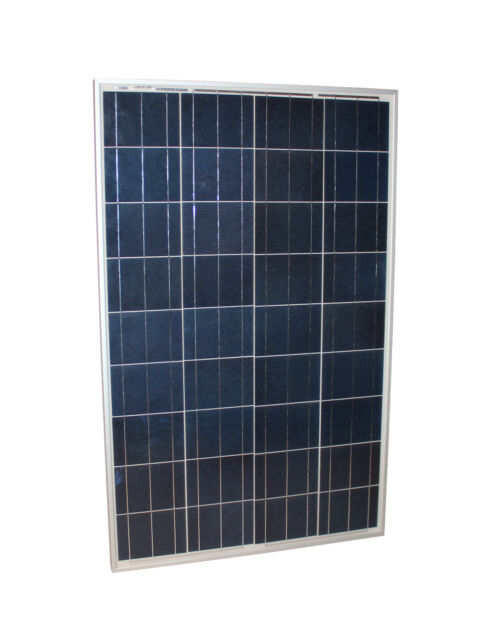 Solarmodul 100 Watt Poly Solarpanel mit TÜV Zertifikat Photovoltaik 100 W NEU