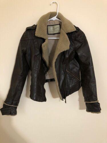 River Island leather jacket