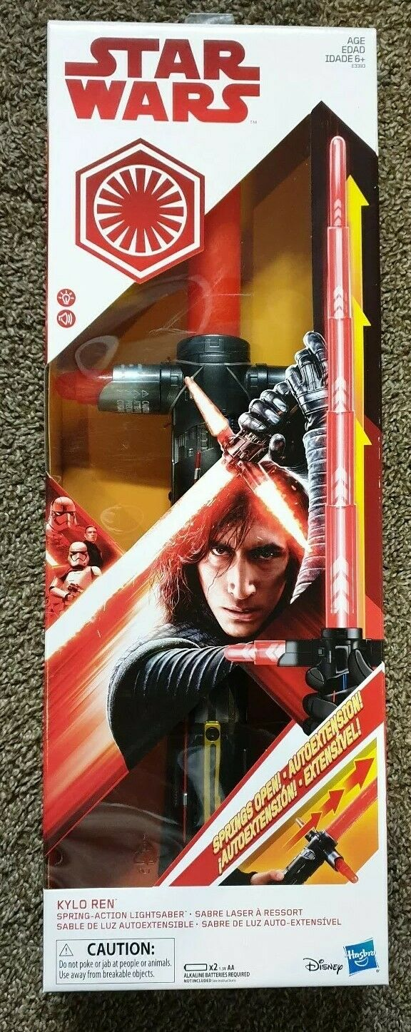 New New New Star Wars Kylo Ren Force Action Electronic Lightsaber d17445