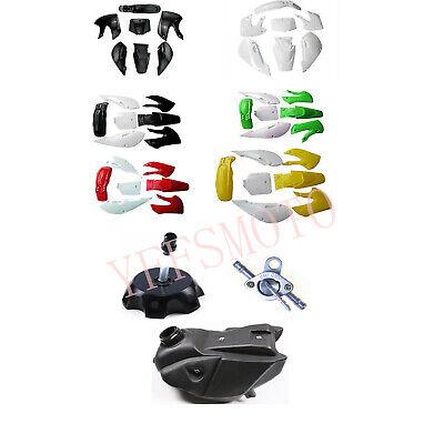 Kamenda kit di copertura integrale per carena per moto in plastica parafango per KLX 110 KX65 DRZ110 Dirt Pit Bike 2002-2013