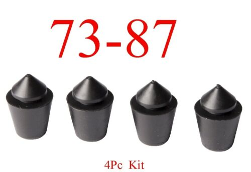 73 87 Chevy 4Pc Left Or Right Rubber Door Bumper Kit GMC Truck