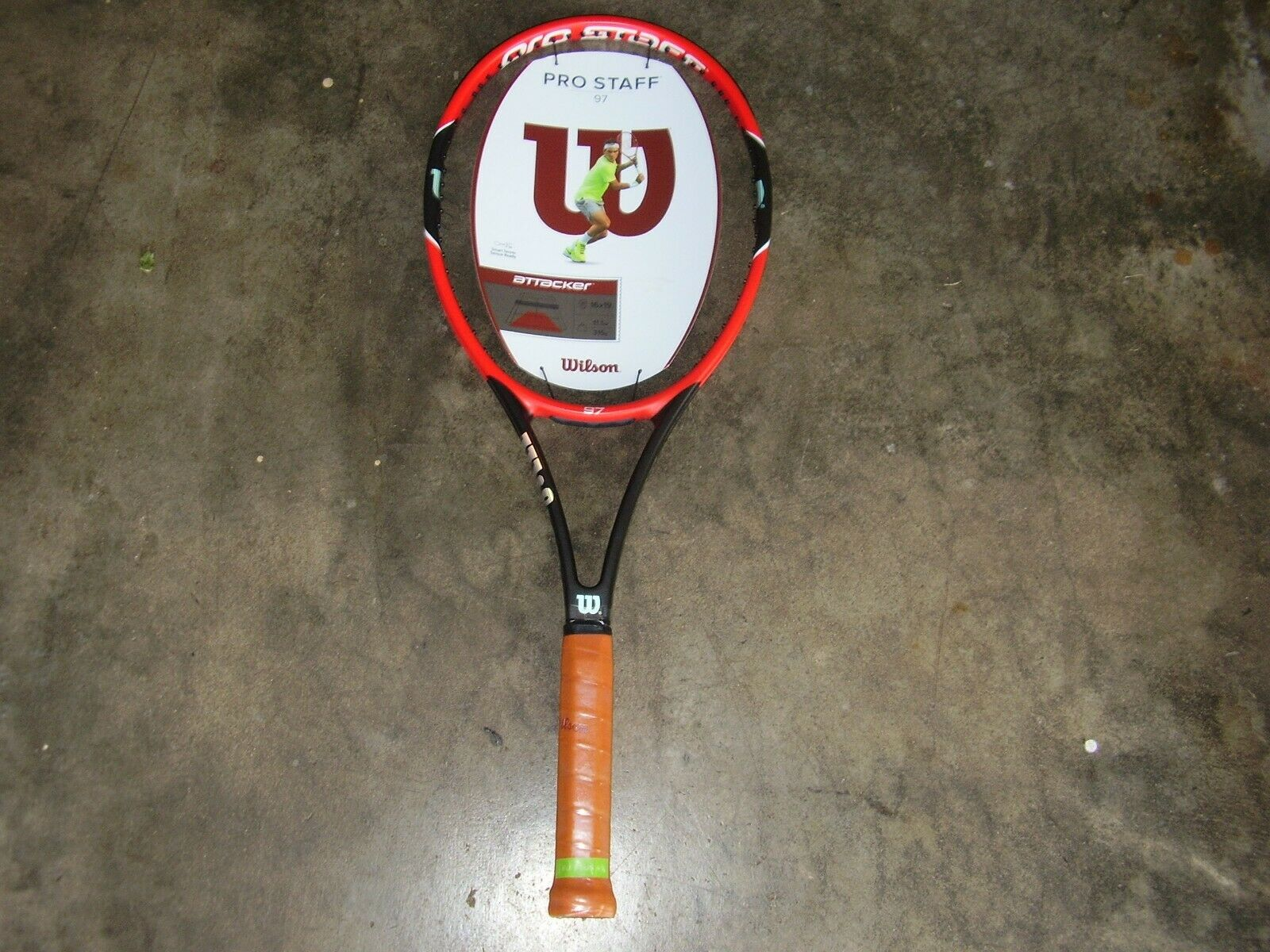 nouveau Rare 2015  Wilson Pro Staff 97 Tennis Racquet 41 4 Showroom Condition