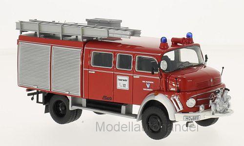 Mercedes L 911 Metz b 36 Rouge Pompiers marlesreuth 1981 1 43 Neo 96810   NEW