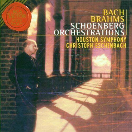 Christoph Eschenbach - Schönberg-Orchestrierungen (Bach / Brahms),neuwertig!